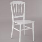 Napolyon-Low-Tiffany-Sandalye-Beyaz